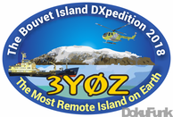 Amateur Radio from Bouvet  3YOZ – January 25 to March 14, 2018