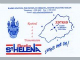 QSL St. Helena Day 2006