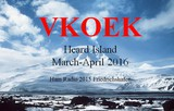 Upcoming Expedition VKOEK Heard Island (March-April 2016)