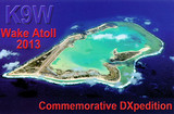 K9W - Wake Atoll - 2013 Commemorative DXpedition