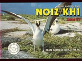 Howland Island, 1988, with Jim, VK9NS; Jean-Louis, TR8JLD; Chris, NO1Z; Ron,...