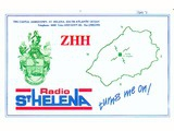 QSL St. Helena Day 1993