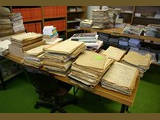 Manila folders from the Austrian National State Archives - media related...