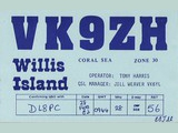 Tony Harris, 1982 - QSL via VK6YL