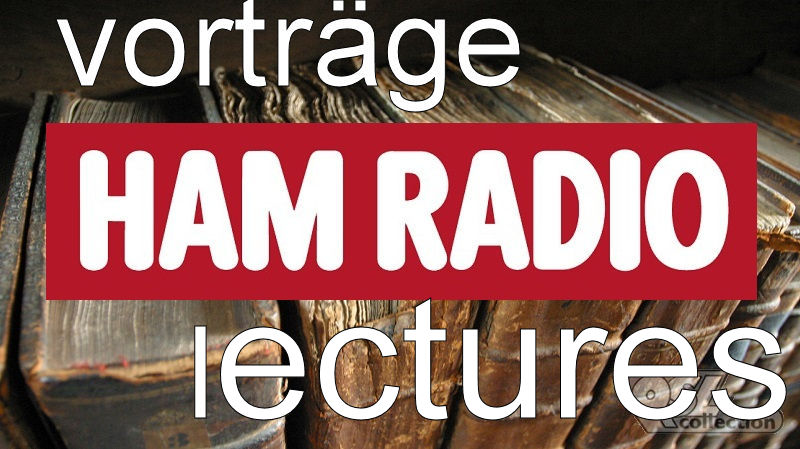 Ham Radio 2016 Referate und Vortr�ge / Keynotes and lectures