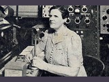 USA -Mabel Beebe, XYL of W7IGM (1941)